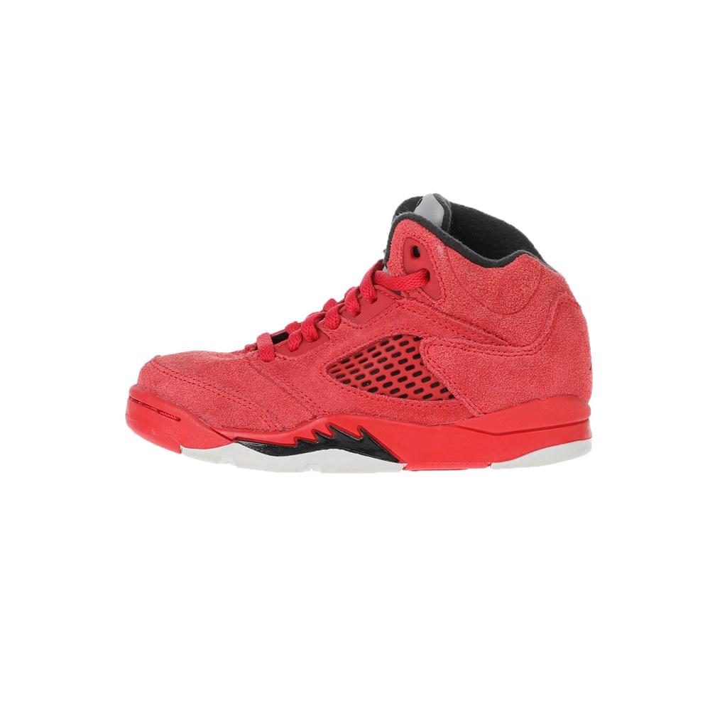 NIKE – Παιδικά αθλητικά παπούτσια Nike JORDAN 5 RETRO BP κόκκινα