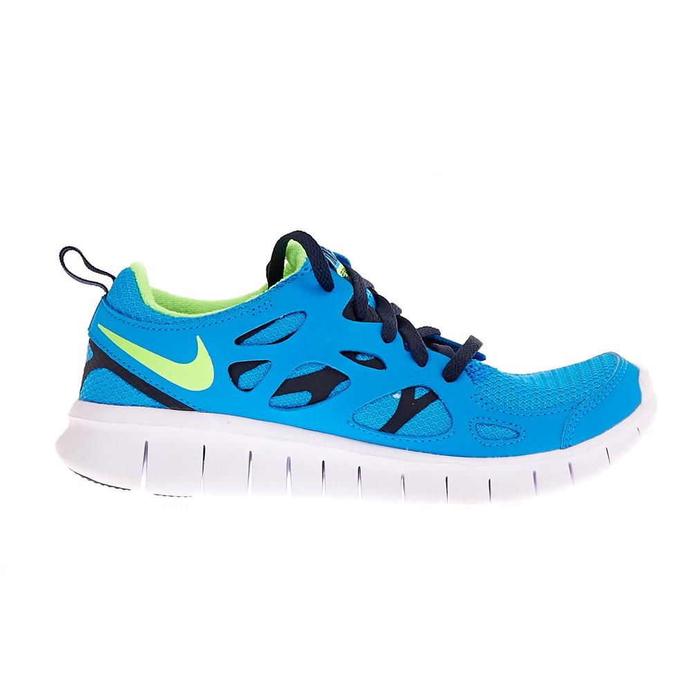 NIKE – Παιδικά αθλητικά παπούτσια NIKE FREE RUN 2 τυρκουάζ