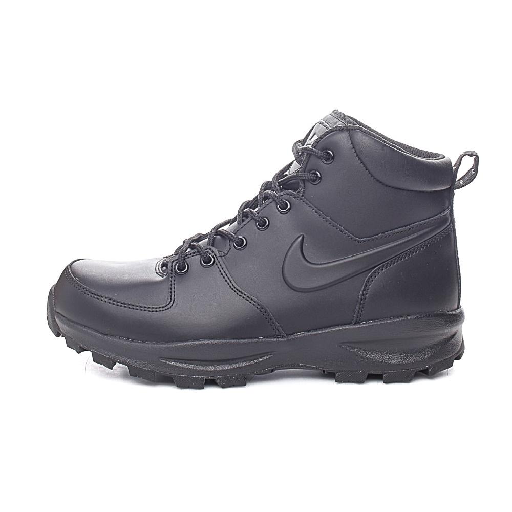 NIKE – Ανδρικά παπούτσια NIKE MANOA LEATHER μαύρα