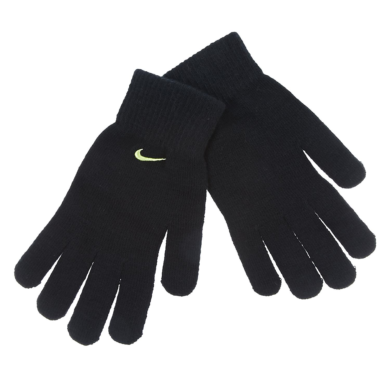 NIKE - Γάντια Nike μαύρα ανδρικά αξεσουάρ φουλάρια κασκόλ γάντια