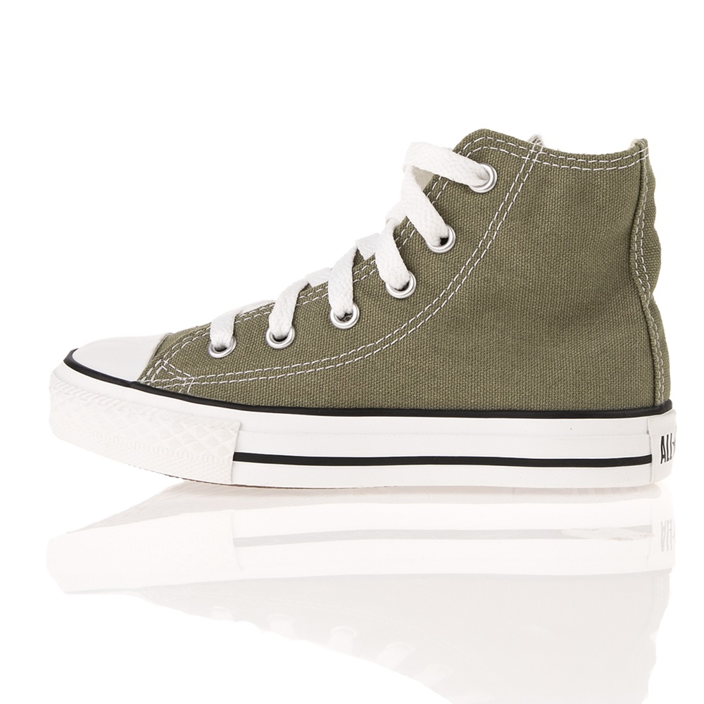 CONVERSE – Παιδικά ψηλά sneakers CONVERSE HI Chuck Taylor AS Special πράσινα