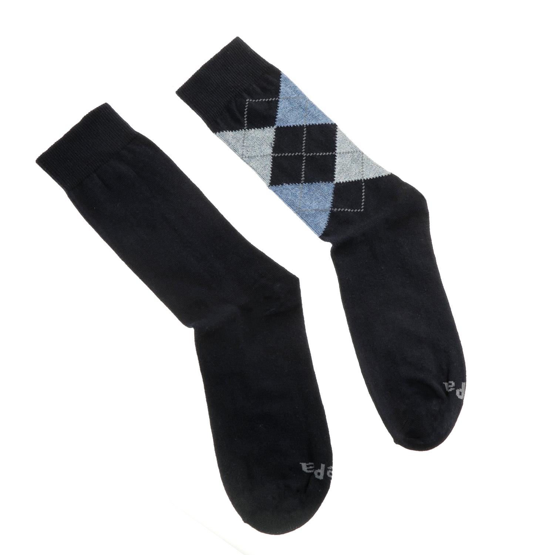 GSA - Σετ ανδρικές κάλτσες JEPA ANKLE SOCK 2 PACK μπλε σκούρο ανδρικά αξεσουάρ κάλτσες