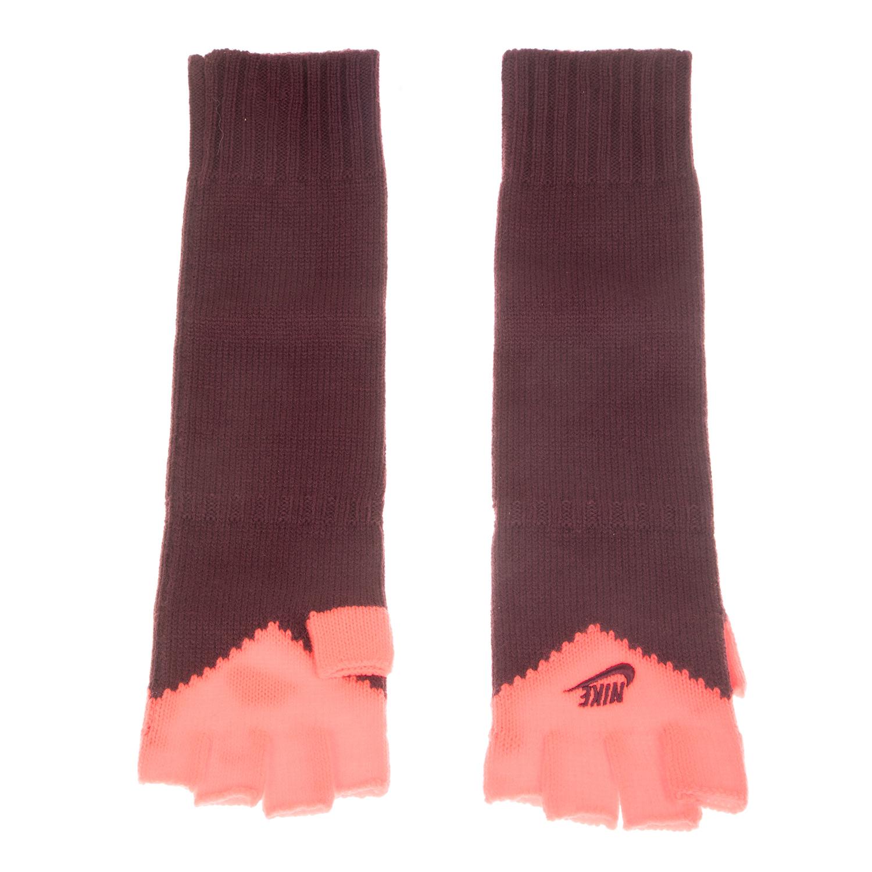 NIKE ACCESSORIES - Γάντια Nike METRO SERIES FINGERLESS ροζ-μοβ ανδρικά αξεσουάρ φουλάρια κασκόλ γάντια