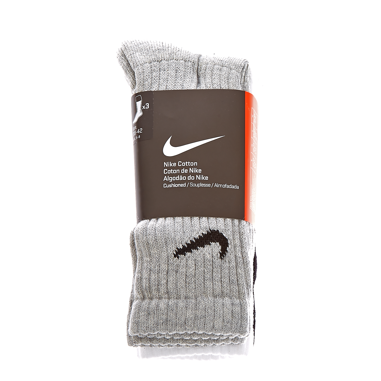 NIKE - Σετ κάλτσες Nike μαύρες,λευκές,γκρι γυναικεία αξεσουάρ κάλτσες
