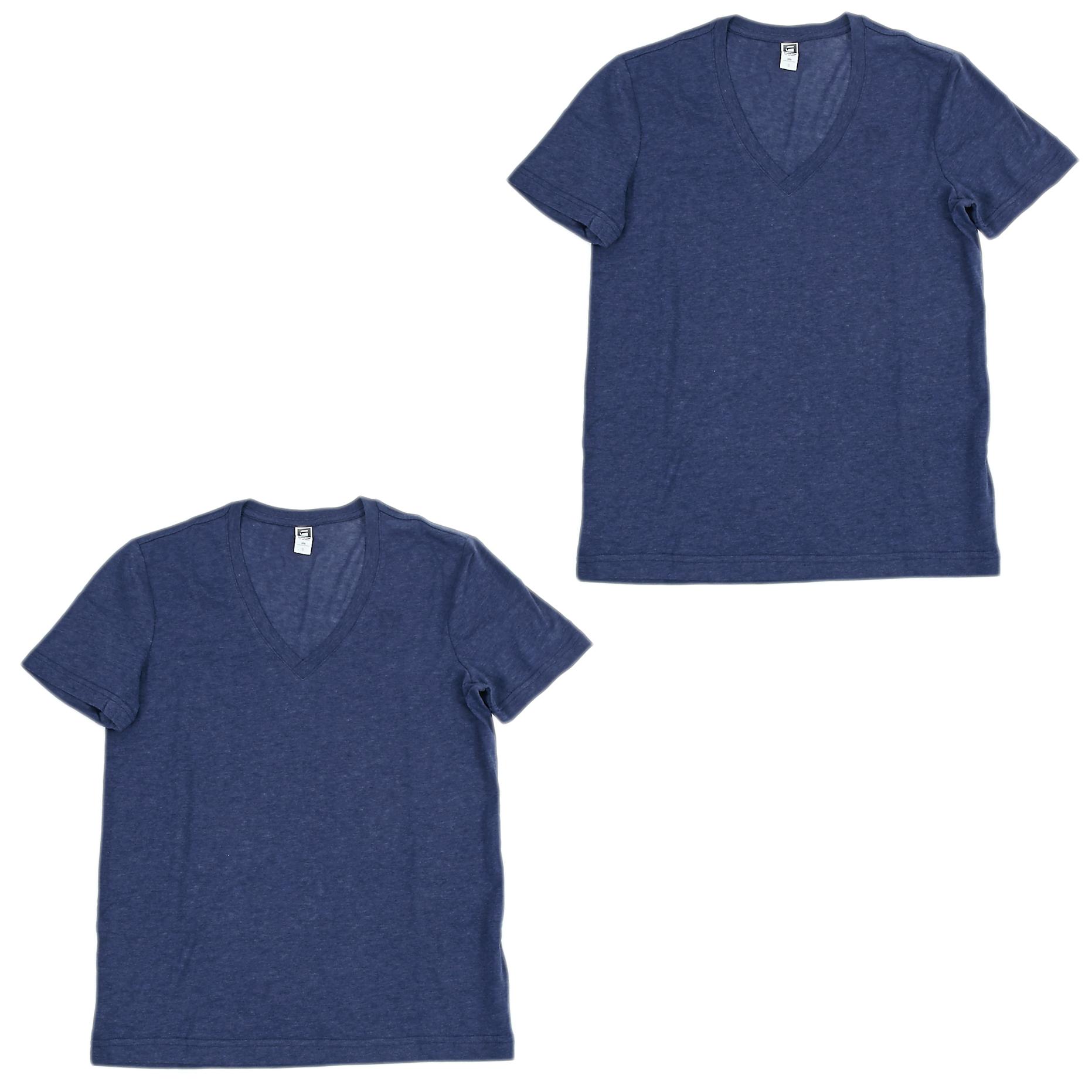 G-STAR RAW - Base htr v t s/s 2-pack ανδρικά ρούχα μπλούζες κοντομάνικες