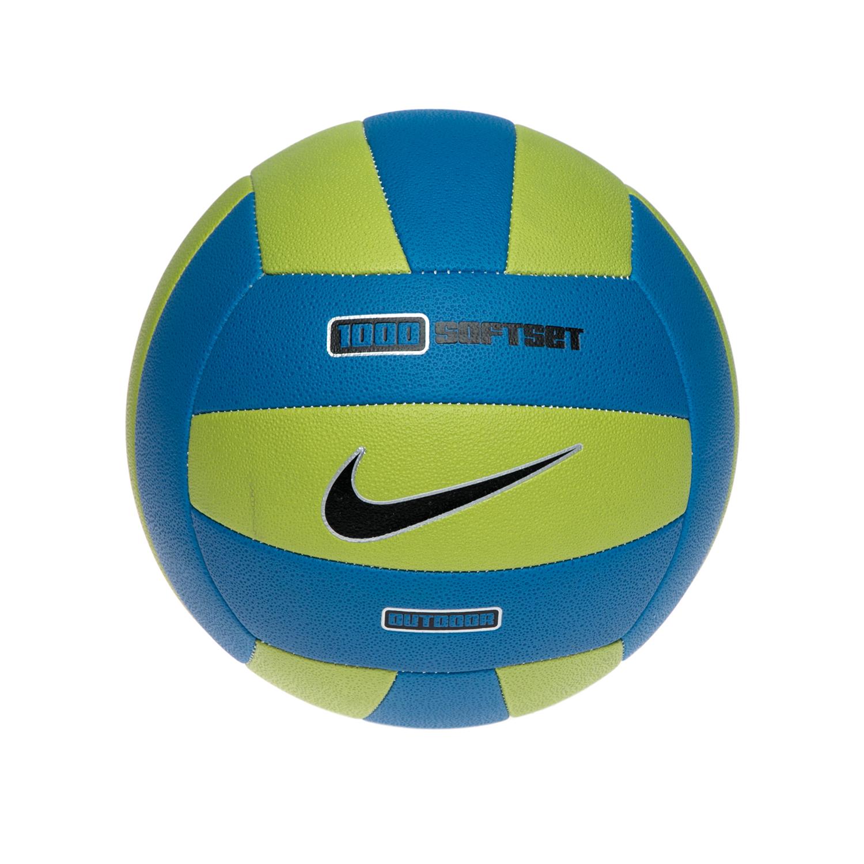 NIKE - Μπάλα βόλεϊ NIKE 1000 SOFTSET OUTDOOR VOLL μπλε-πράσινη γυναικεία αξεσουάρ αθλητικά είδη μπάλες