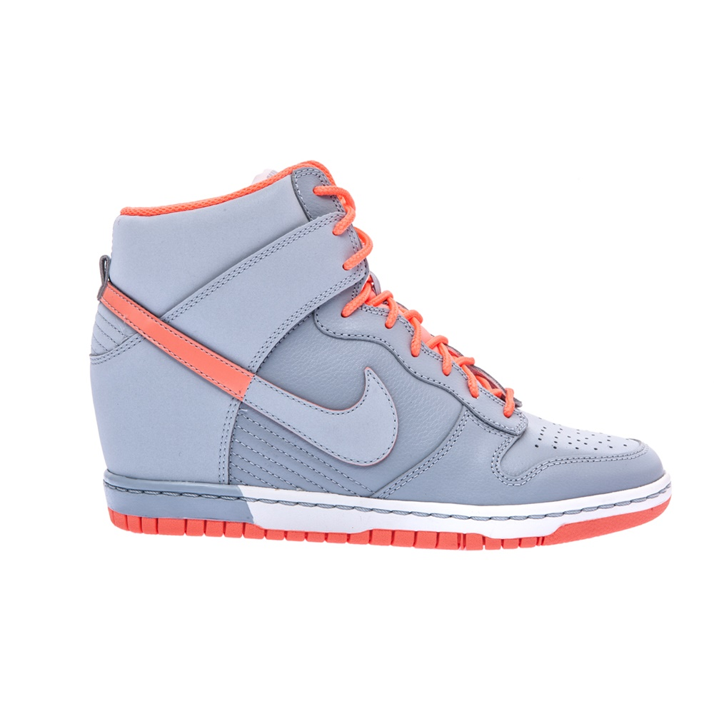 NIKE – Γυναικεία παπούτσια NIKE DUNK SKY HI γκρι