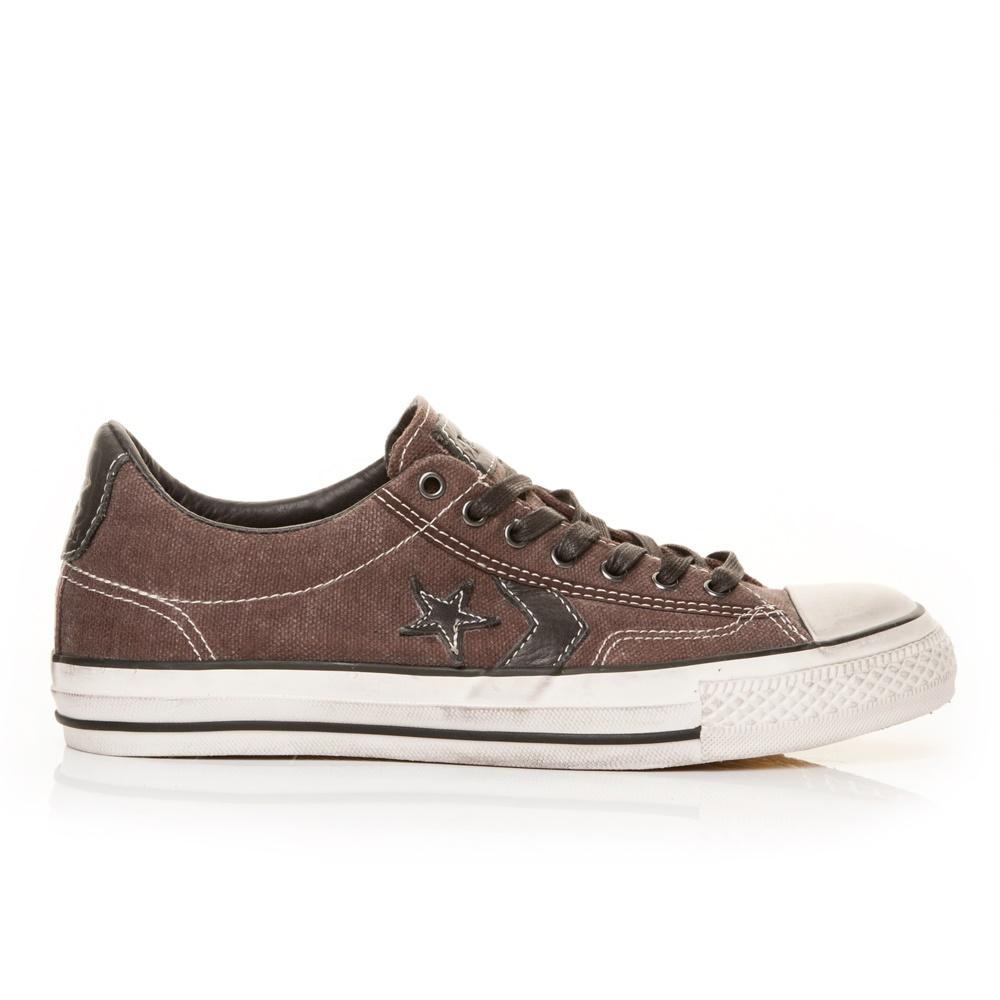CONVERSE – Unisex παπούτσια John Varvatos Star Player σοκολατί