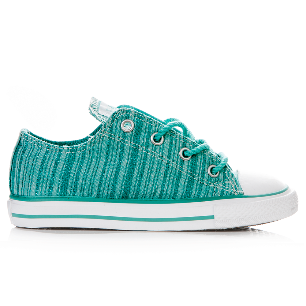 CONVERSE – Παιδικά παπούτσια Chuck Taylor πράσινα