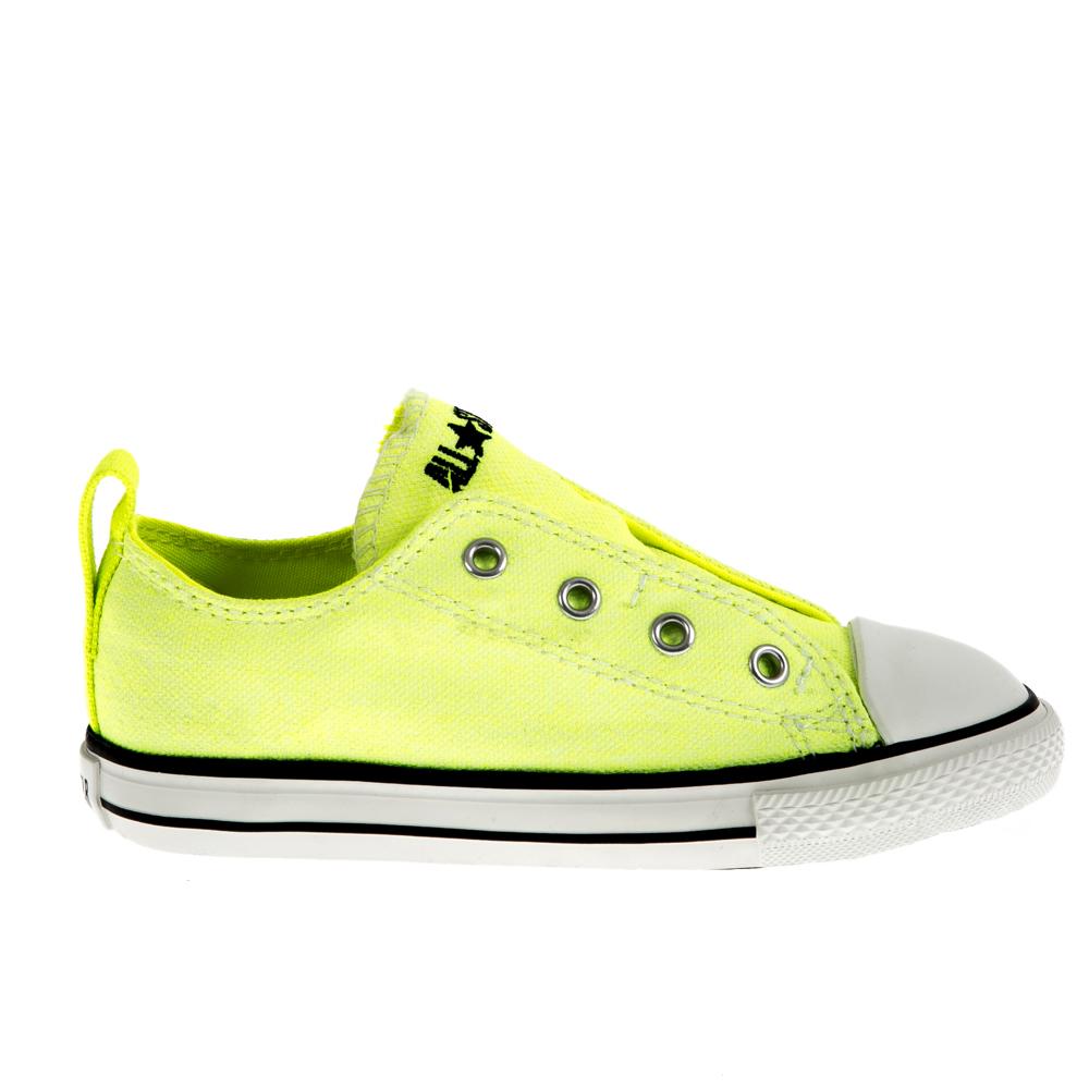CONVERSE – Βρεφικά παπούτσια Chuck Taylor κίτρινα