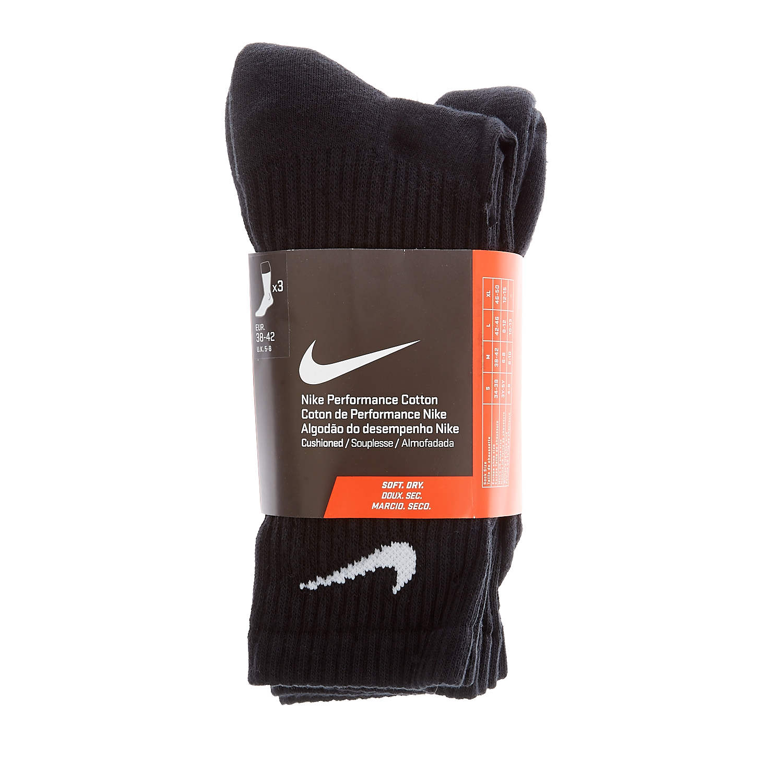 NIKE - Σετ κάλτσες Nike μαύρες γυναικεία αξεσουάρ κάλτσες