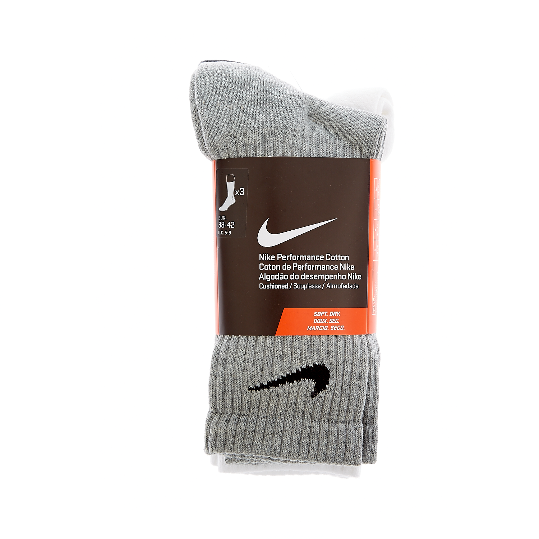 NIKE - Σετ κάλτσες Nike λευκές,γκρι,μαύρες γυναικεία αξεσουάρ κάλτσες