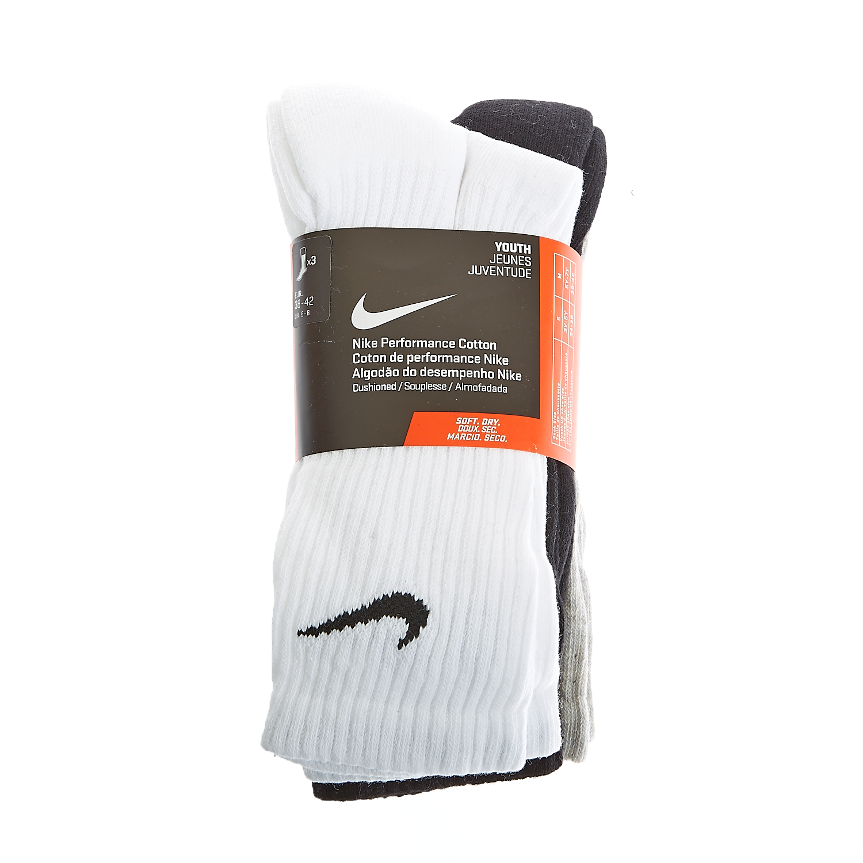 NIKE - Παιδικό σετ Nike λευκές,γκρι,μαύρες παιδικά boys αξεσουάρ κάλτσες