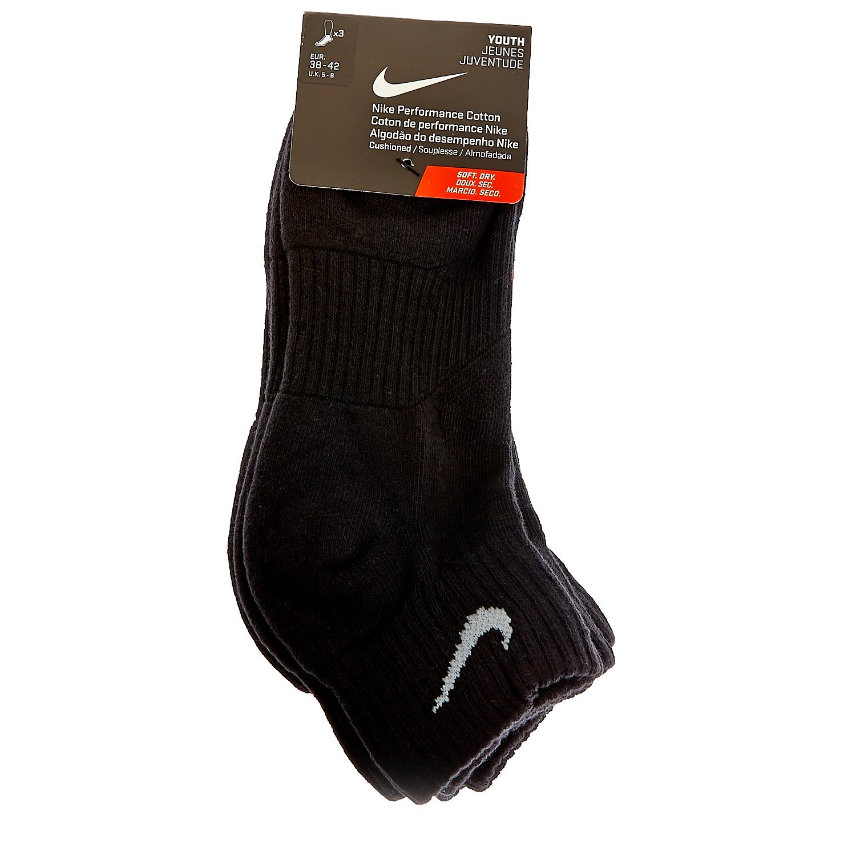 NIKE - Παιδικό σετ κάλτσες Nike μαύρες παιδικά boys αξεσουάρ κάλτσες