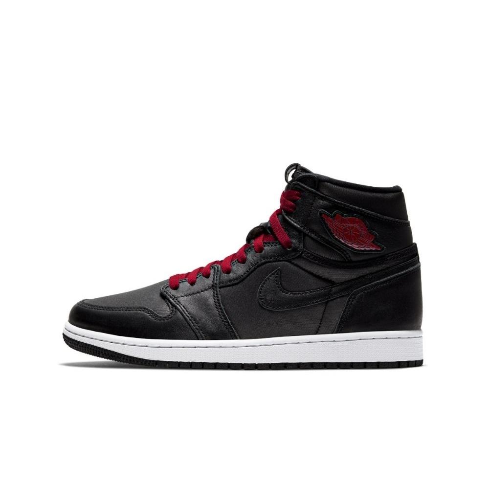NIKE – Ανδρικά παπούτσια basketball NIKE AIR JORDAN 1 RETRO HIGH OG μαύρα