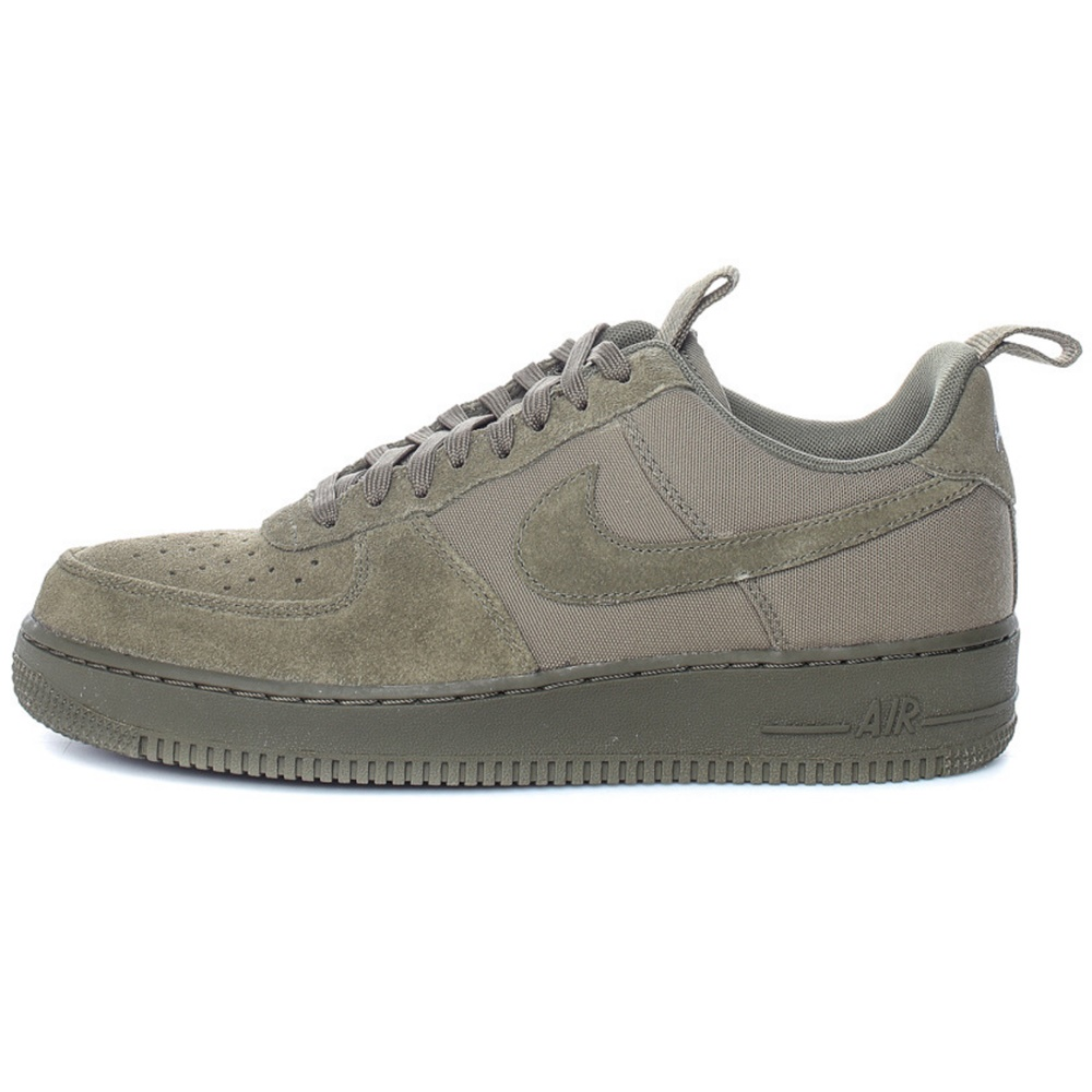 NIKE – Ανδρικά sneakers Nike AIR FORCE 1 '07 CNVS λαδί