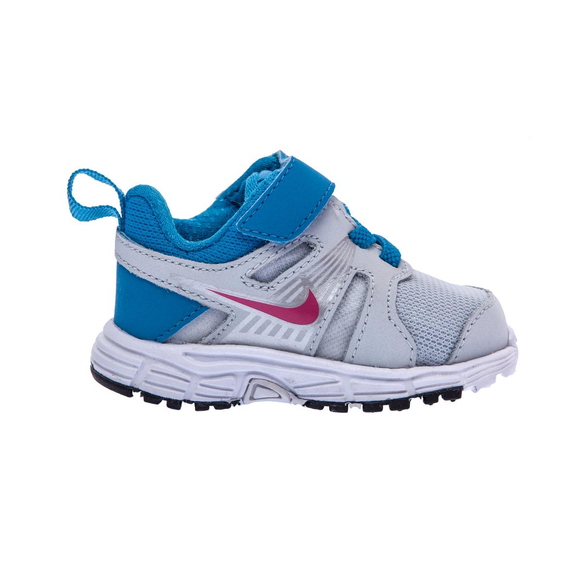 NIKE – Βρεφικά παπούτσια NIKE DART 10 λευκά