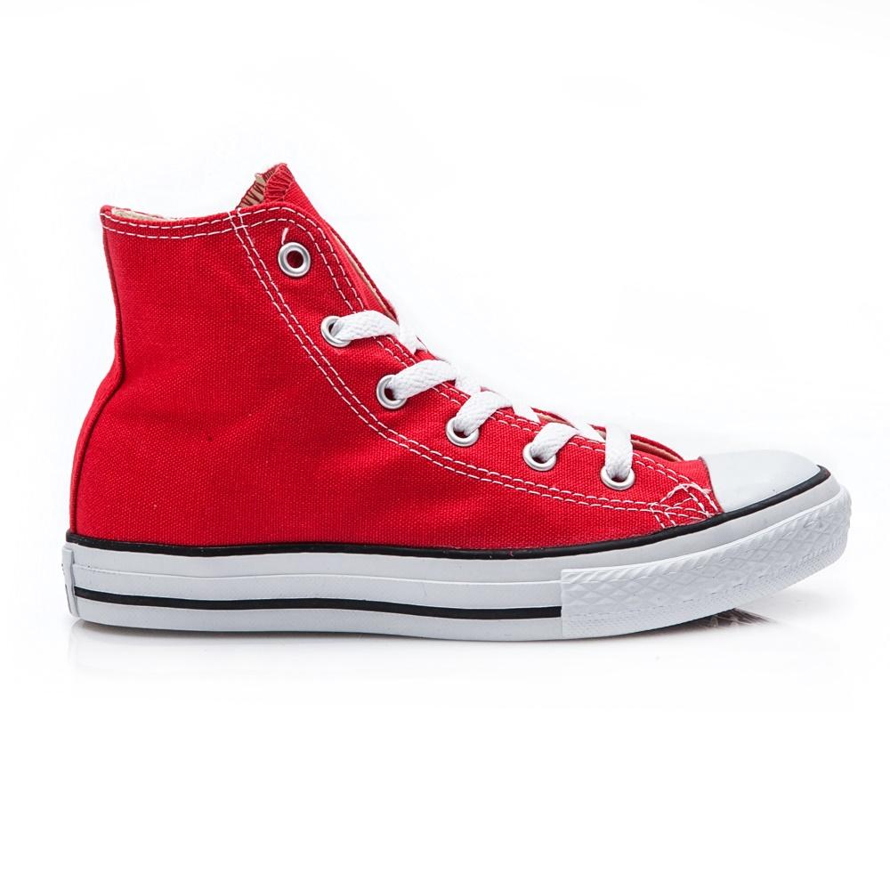 77349d46ccb CONVERSE - Παιδικά μποτάκια Chuck Taylor κόκκινα • Παπούτσια Enma.gr