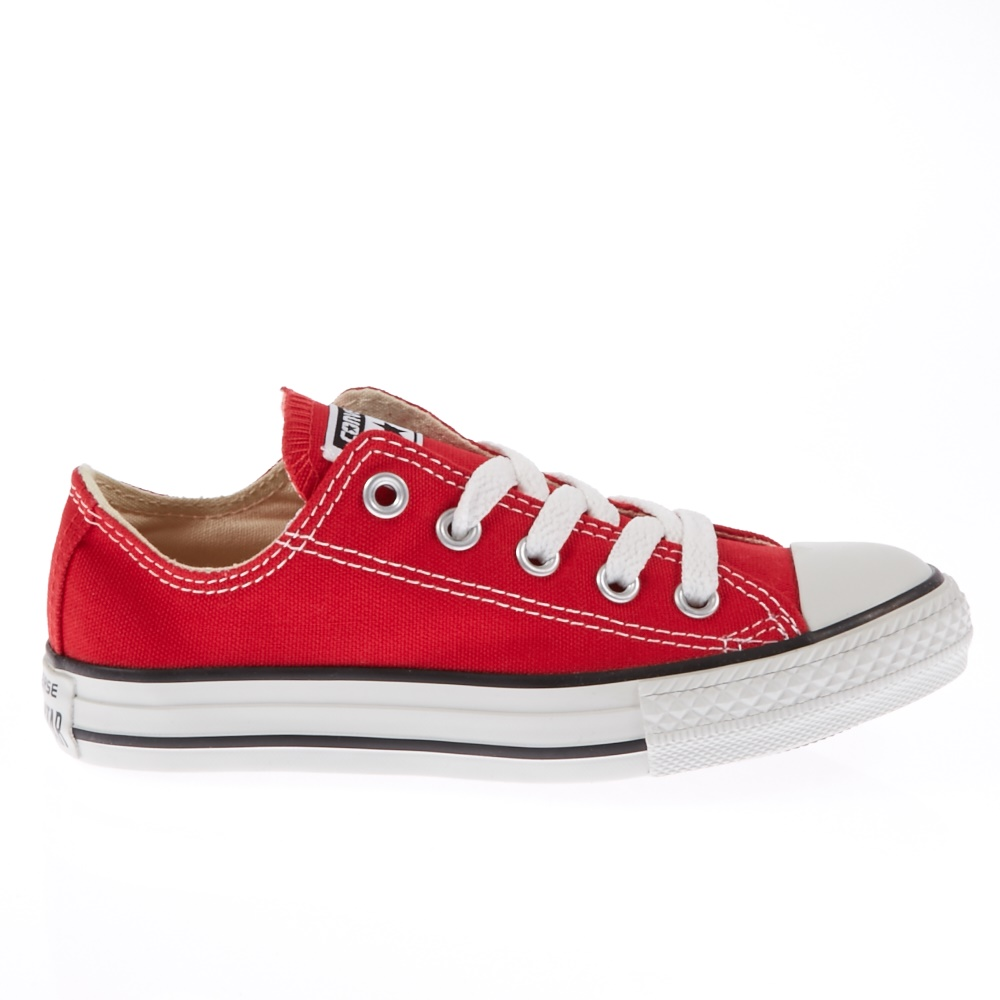 CONVERSE – Παιδικά παπούτσια Chuck Taylor κόκκινα
