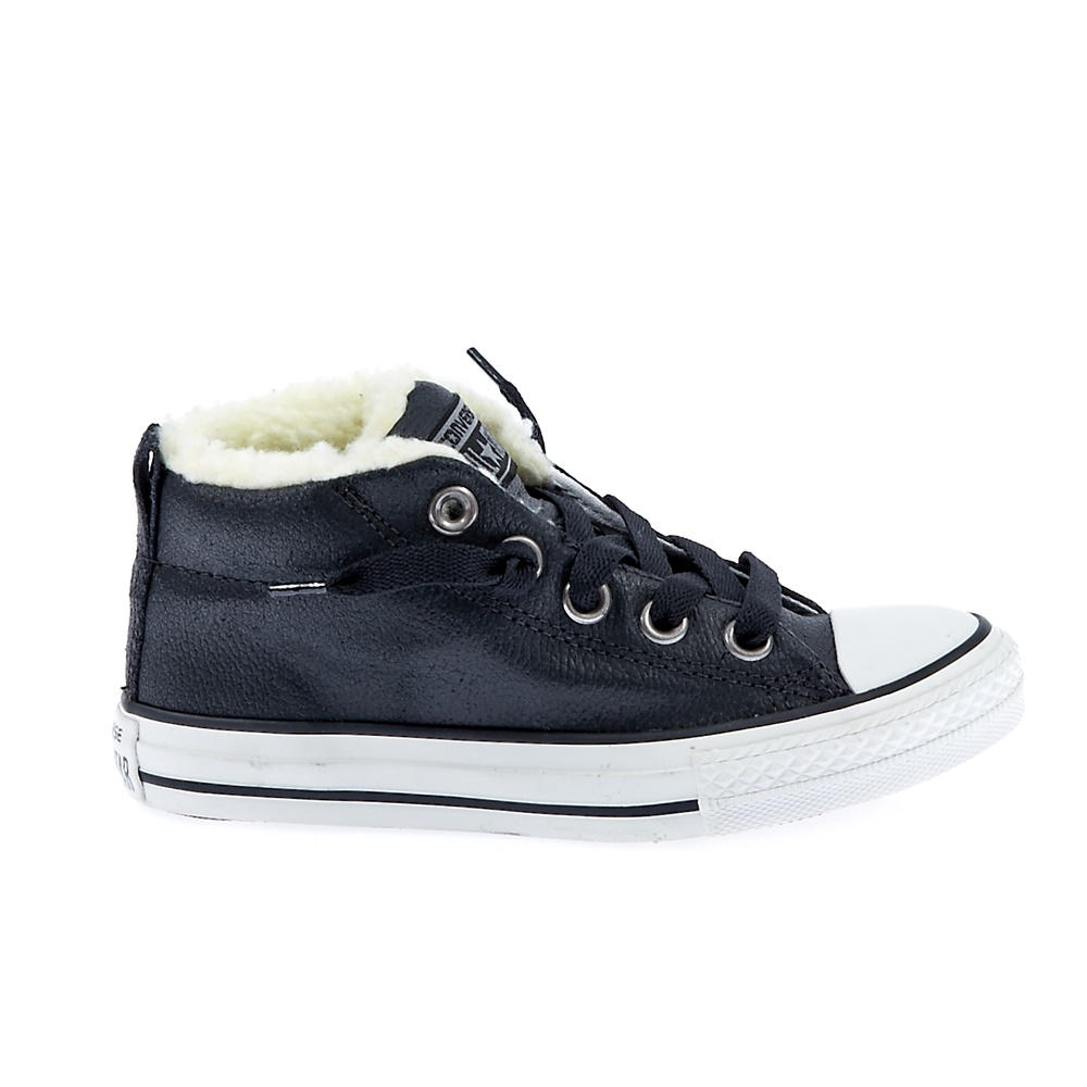 CONVERSE – Παιδικά παπούτσια Chuck Taylor Street μαύρα