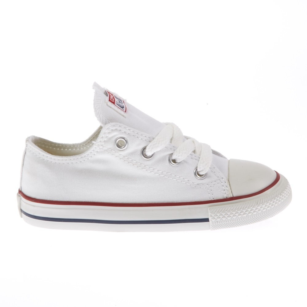 CONVERSE - Βρεφικά παπούτσια Chuck Taylor λευκά παιδικά baby παπούτσια sneakers