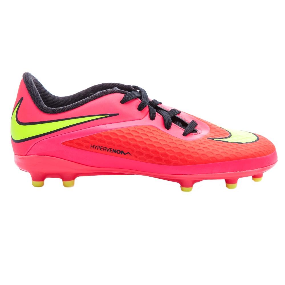 NIKE – Παιδικά παπούτσια football Nike Hypervenom Phelon TF ροζ-κόκκινα