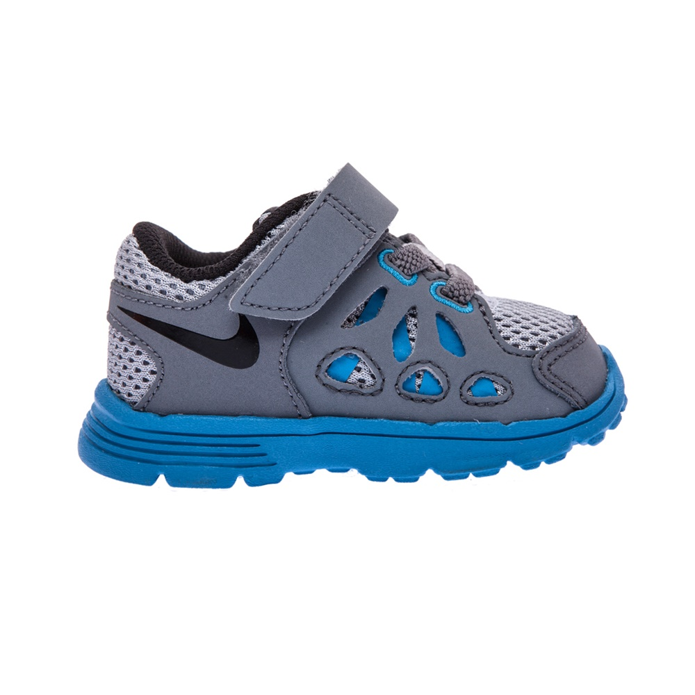 NIKE - Βρεφικά παπούτσια NIKE KIDS FUSION RUN 2 γκρι παιδικά baby παπούτσια αθλητικά