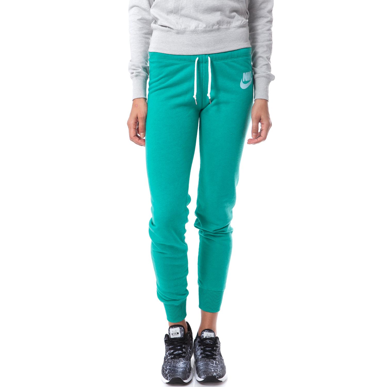 NIKE - Γυναικεία φόρμα Nike πράσινη sports προπόνηση παντελόνια φόρμας