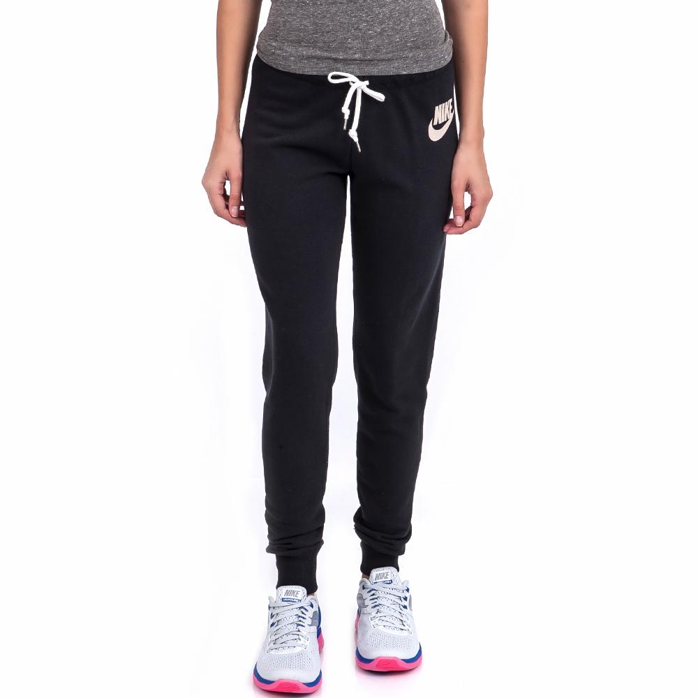 NIKE - Γυναικεία φόρμα Nike μαύρη sports προπόνηση παντελόνια φόρμας