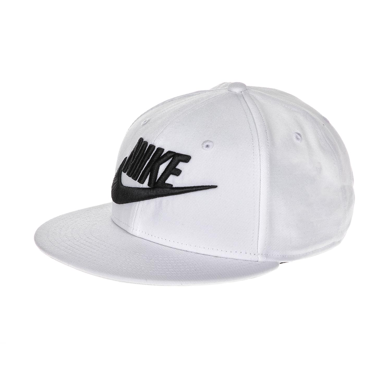 NIKE - Καπέλο αθλητικό NΙKΕ TRUE FUTURA CAP λευκό γυναικεία αξεσουάρ καπέλα αθλητικά