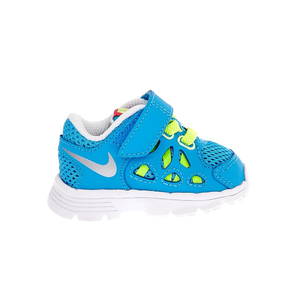 NIKE - Βρεφικά αθλητικά παπούτσια NIKE KIDS FUSION RUN 2 τυρκουάζ παιδικά baby παπούτσια αθλητικά