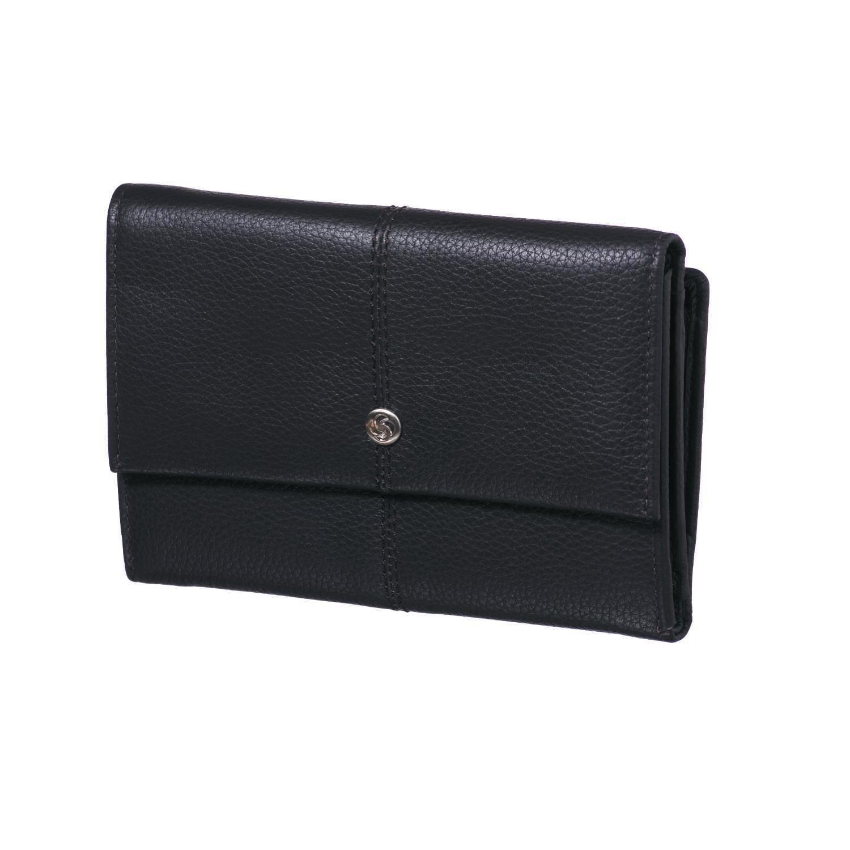 SAMSONITE - Γυναικείο πορτοφόλι αναδιπλούμενο CORBUS καφέ γυναικεία αξεσουάρ πορτοφόλια μπρελόκ πορτοφόλια