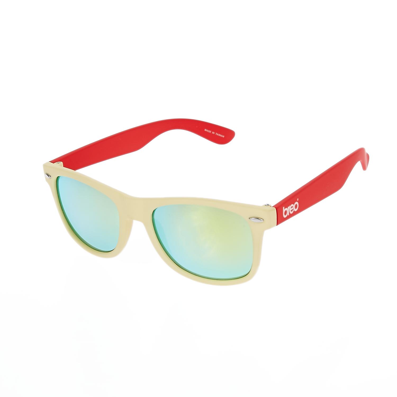 BREO - Unisex γυαλιά ηλίου TWO TONE MIRROR μπεζ γυναικεία αξεσουάρ γυαλιά ηλίου
