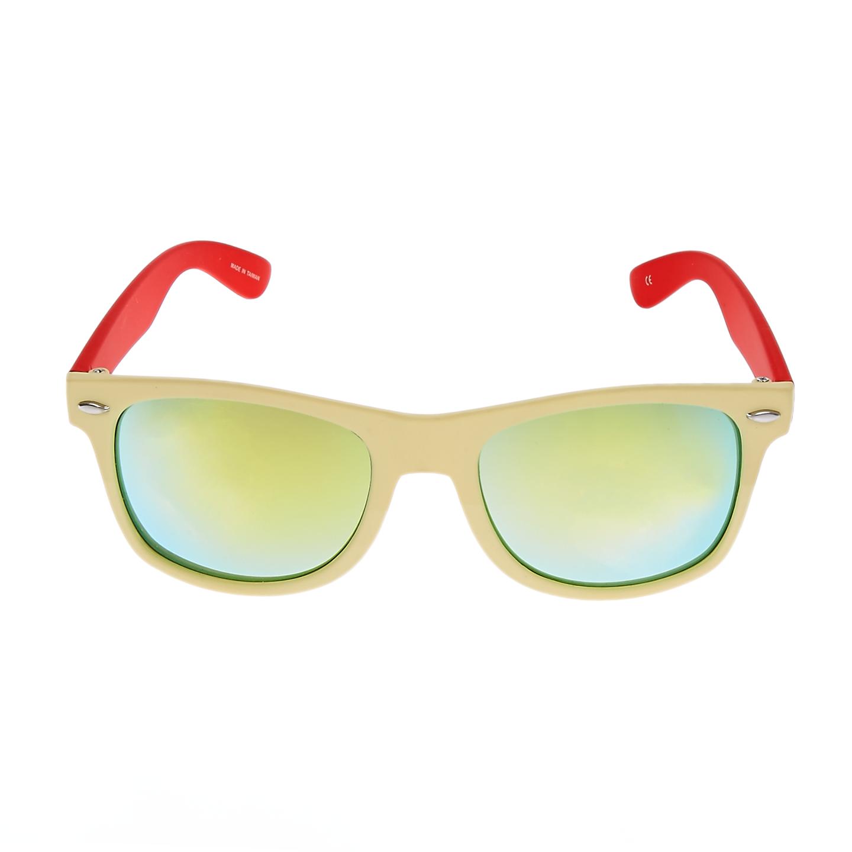 BREO - Unisex γυαλιά ηλίου TWO TONE MIRROR μπεζ 9e322329895