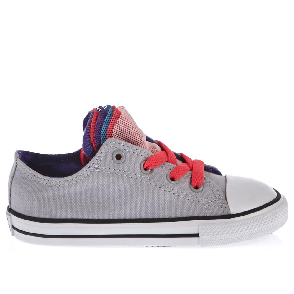 CONVERSE – Βρεφικό παπούτσι Converse γκρι