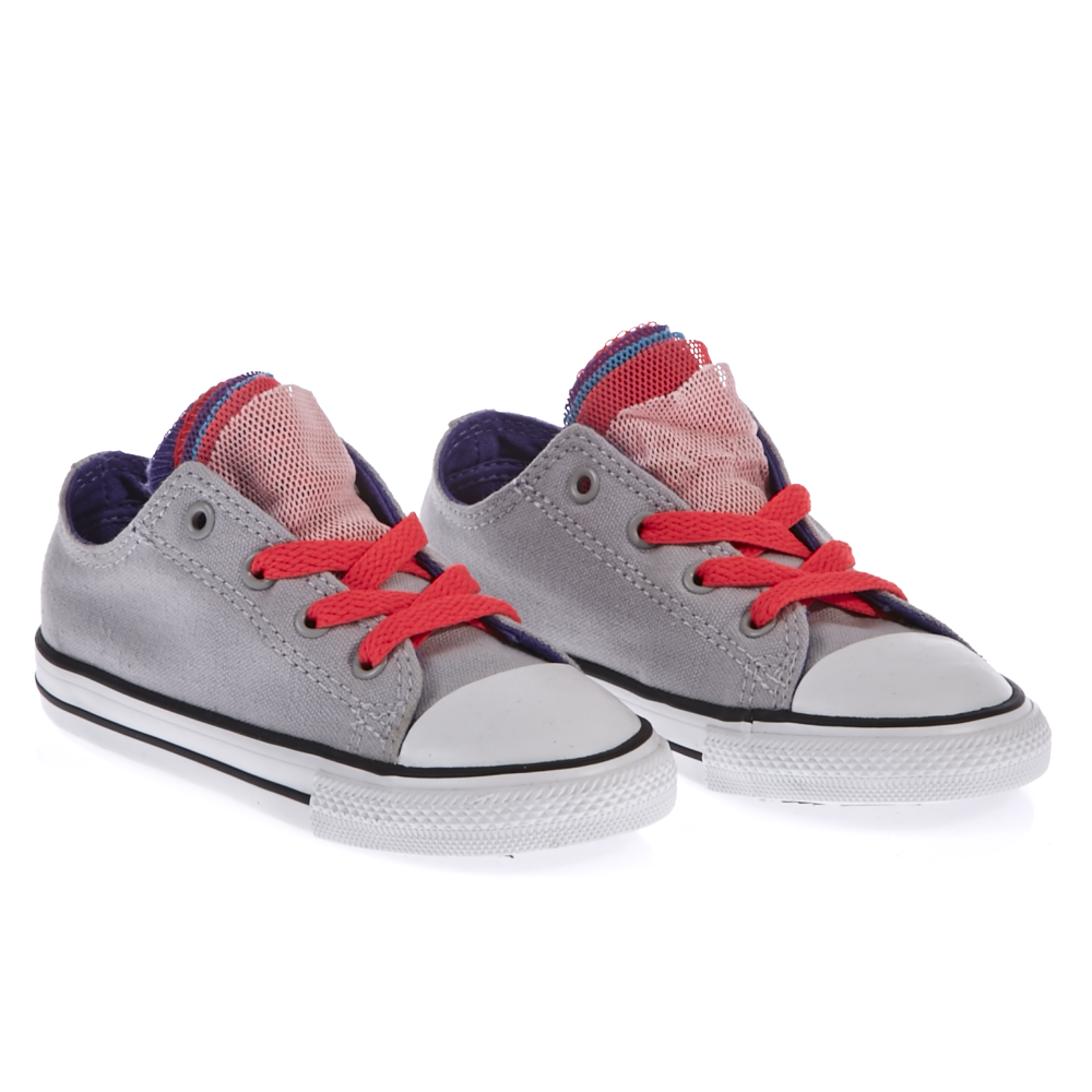 bce3e53c023 CONVERSE - Βρεφικό παπούτσι Converse γκρι, ΠΑΙΔΙ | ΠΑΠΟΥΤΣΙΑ | ΒΡΕΦΙΚΑ |  SNEAKERS