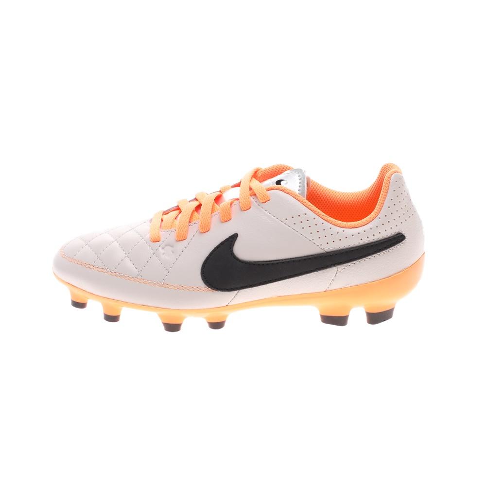 NIKE – Παιδικά παπούτσια football NIKE JR TIEMPO GENIO LEATHER FG μπεζ
