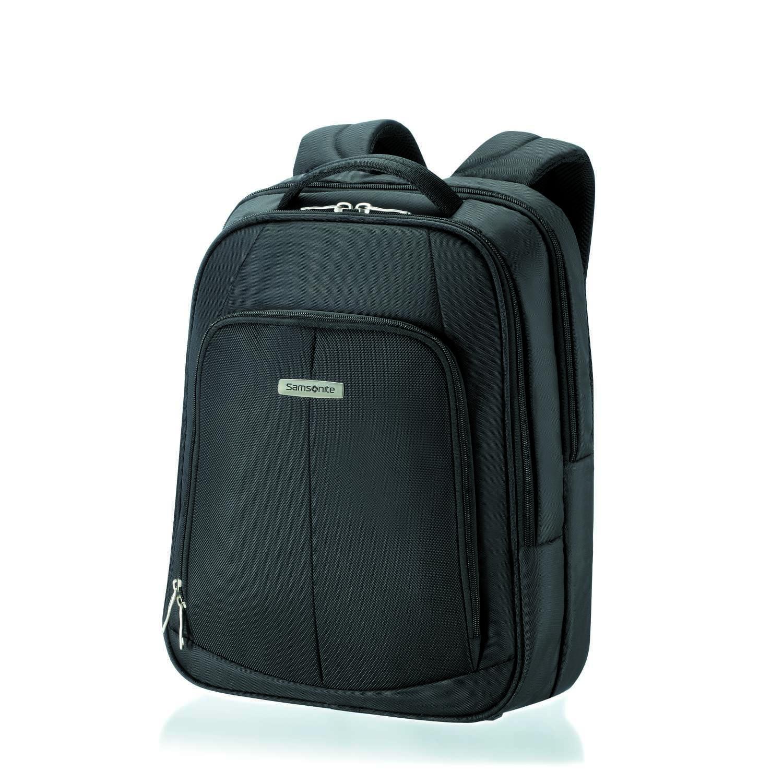 "SAMSONITE - Unisex τσάντα πλάτης INTELLIO LAPTOP BACKPACK 16"" μαύρη ανδρικά αξεσουάρ είδη ταξιδίου χαρτοφύλακες τσάντες laptop"