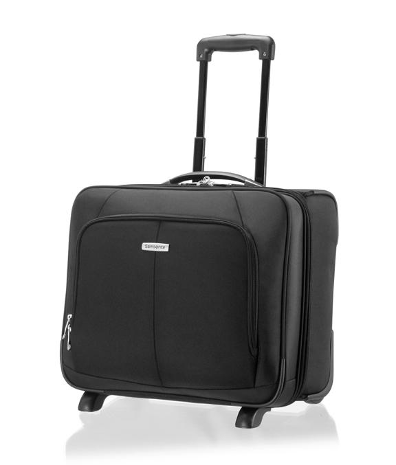 SAMSONITE - Τσάντα ταξίδιου INTELLIO BRIEFCASE TOPLOADER/W μαύρη γυναικεία αξεσουάρ είδη ταξιδίου χαρτοφύλακες τσάντες laptop