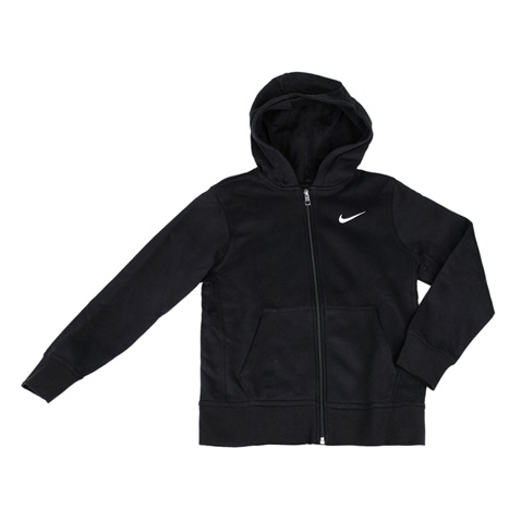NIKE-Παιδική φούτερ ζακέτα NIKE μαύρη