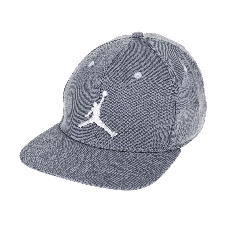 NIKE - Unisex καπέλο ΝΙΚΕ JORDAN JUMPMAN SNAPBACK γκρι γυναικεία αξεσουάρ καπέλα αθλητικά