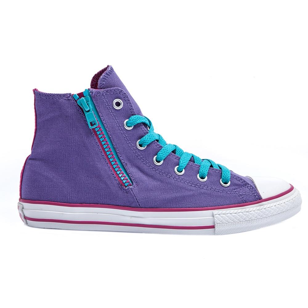 6de2f1f00da CONVERSE – Παιδικά παπούτσια Chuck Taylor μωβ