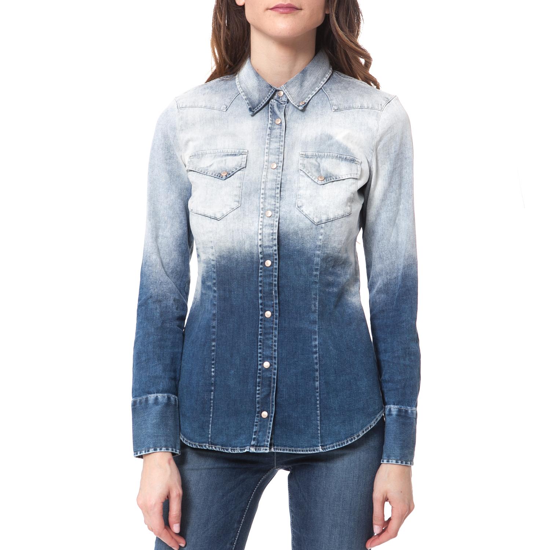 GAS - Γυναικείο πουκάμισο Gas CAMICIE γυναικεία ρούχα πουκάμισα μακρυμάνικα