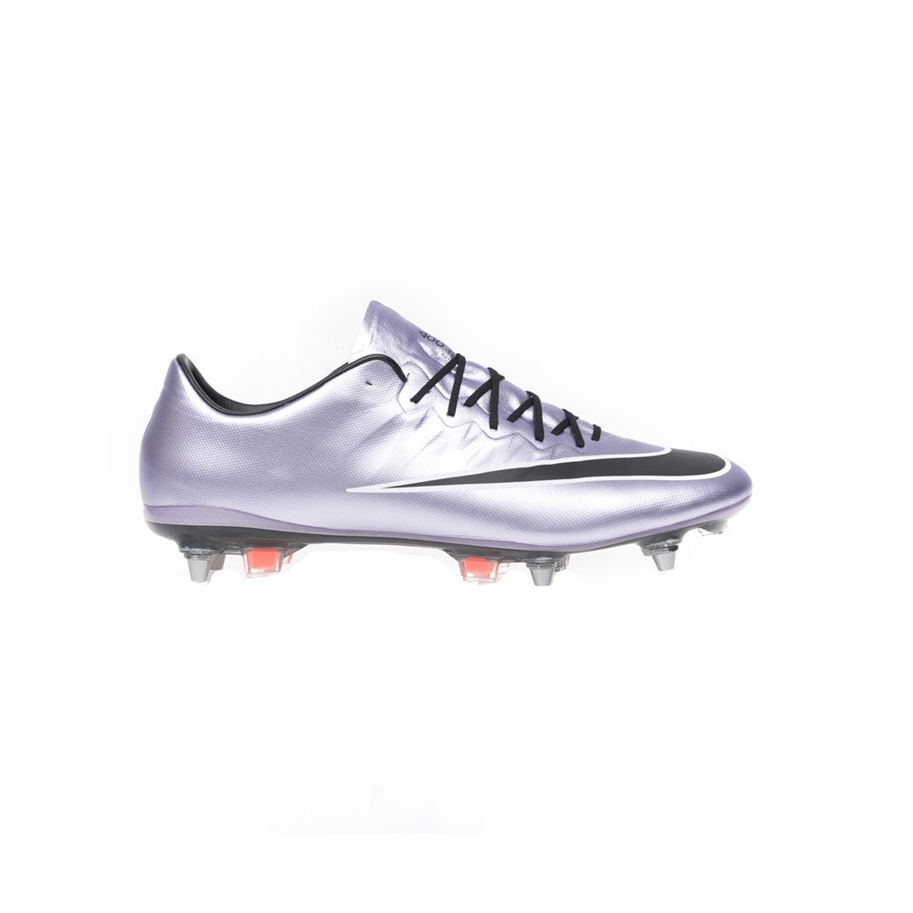 NIKE – Αντρικά παπούτσια NIKE MERCURIAL VAPOR X SG-PRO ασημί-μωβ