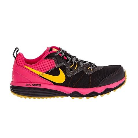 NIKE-Γυναικεία αθλητικά παπούτσια NIKE DUAL FUSION TRAIL μαύρα-φούξια