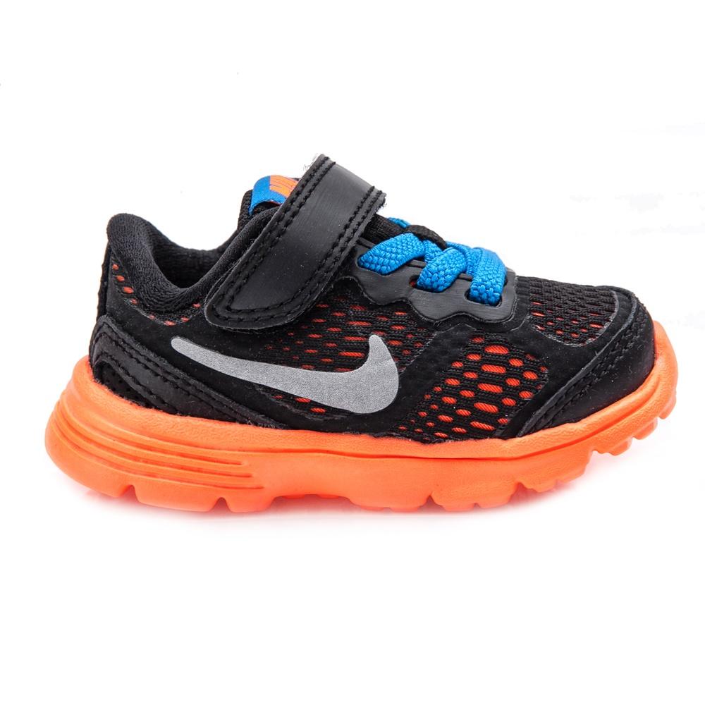 NIKE – Βρεφικά παπούτσια NIKE FUSION RUN 3 μαύρα