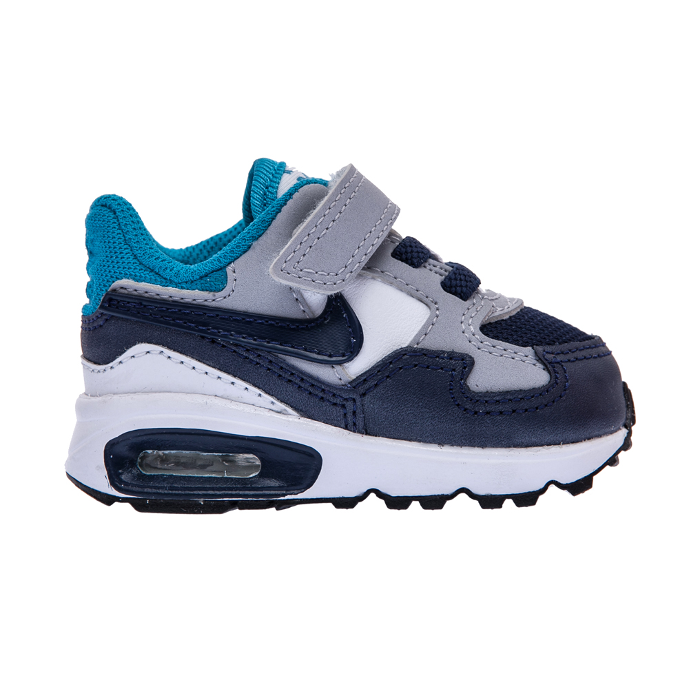 NIKE – Βρεφικά παπούτσια NIKE AIR MAX ST γκρι-μπλε
