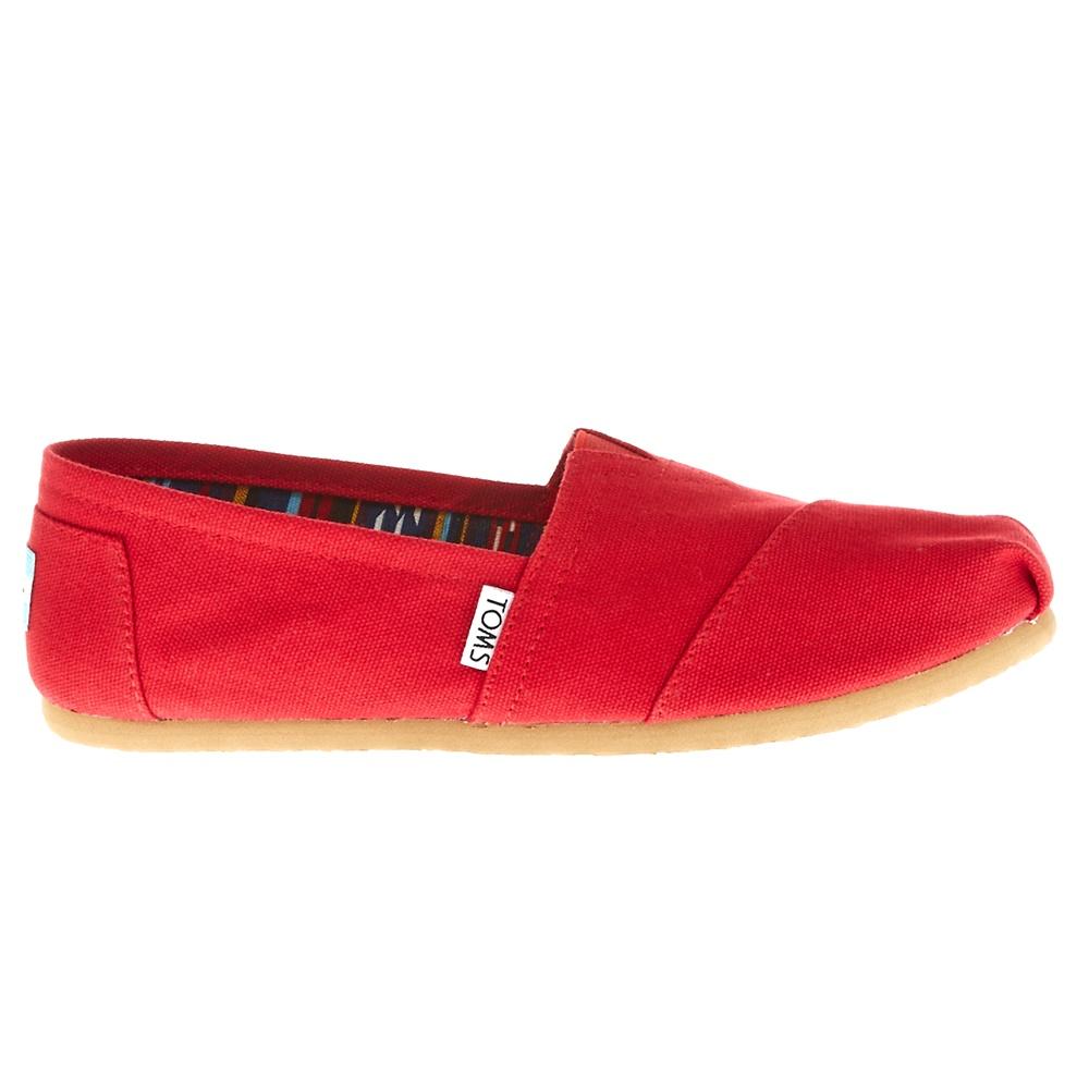 TOMS – Γυναικείες slip-on TOMS κόκκινες