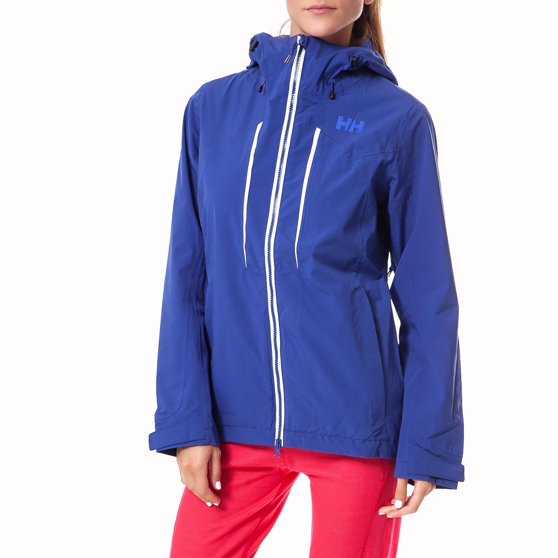 HELLY HANSEN - Γυναικείο μπουφάν Helly Hansen μπλε γυναικεία ρούχα πανωφόρια μπουφάν