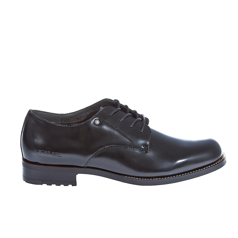 "G-STAR RAW - Γυναικεία παπούτσια ""Manor Derby Shine"" μαύρα γυναικεία παπούτσια μοκασίνια μπαλαρίνες μοκασίνια"
